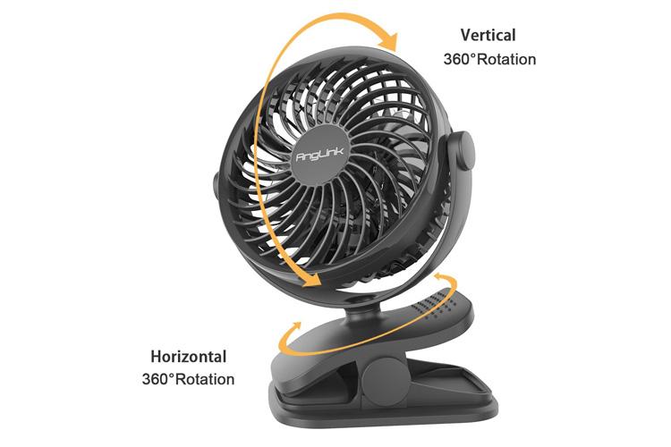 AngLink Mini Ventilateur à Clipper avis