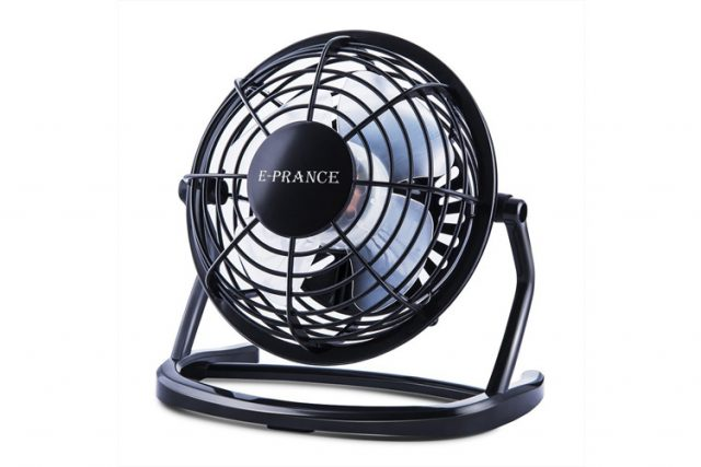 E-Prance mini ventilateur USB : un mini ventilateur de table très efficace